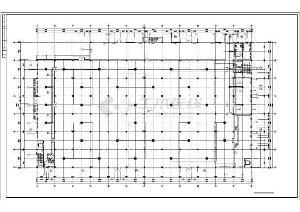[大连]电子厂房暖通空调施工图-图2