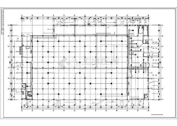 [大连]电子厂房暖通空调施工图-图3