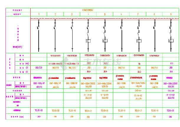 真实项目高低压系统图和原理图-图1