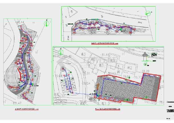 某城市小游园园林绿化照明设计-图1