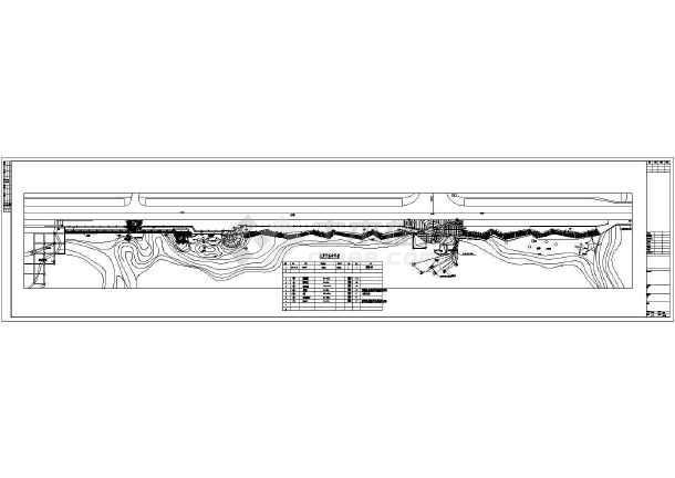 某湿地公园供电照明cad设计图-图2