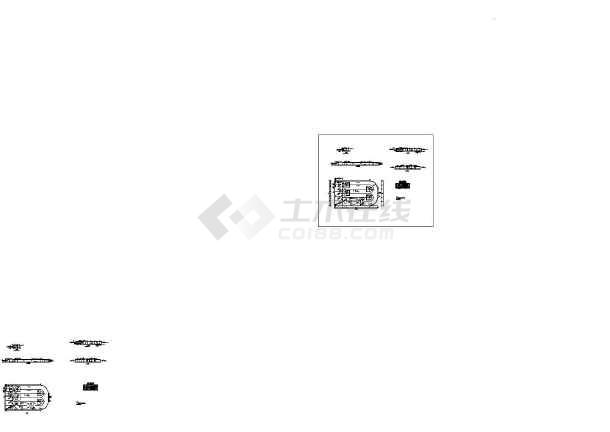 氧化沟工艺图纸全套-图1