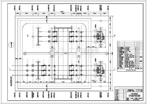 风力发电工程建筑cad施工设计图纸-图3