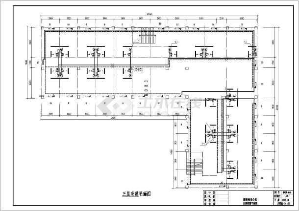 [新疆]铁路局公寓楼给排水采暖设计施工图-图2
