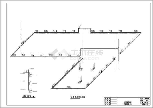 [新疆]铁路局公寓楼给排水采暖设计施工图-图3