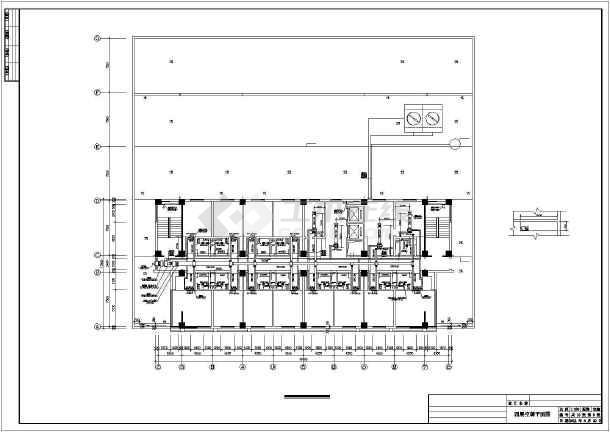 酒店暖通空调施工图-图1