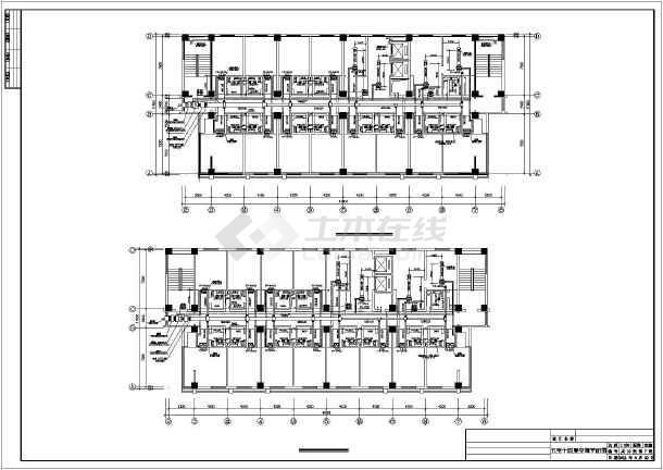 酒店暖通空调施工图-图2