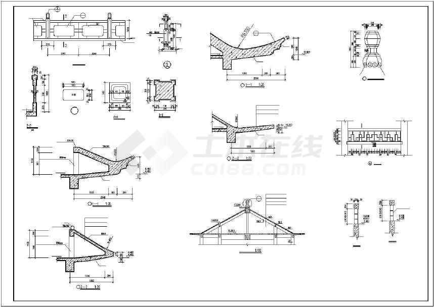 三层古建建筑图(共8张)-图3