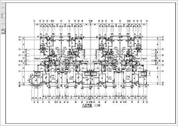 某小高层住宅楼建筑cad图纸cad级分几v高层图片