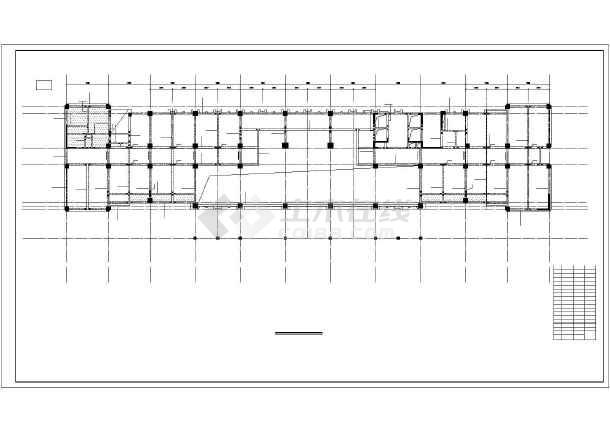 框剪综合楼结构施工图-图2