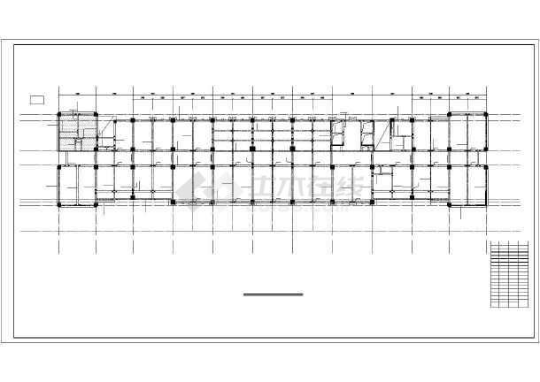 框剪综合楼结构施工图-图3