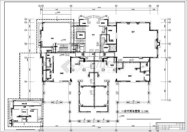 [北京]高档别墅暖通空调施工图-图1