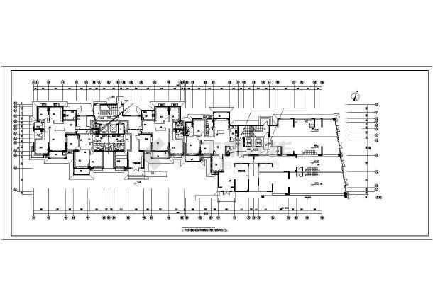 [洛阳]某高层住宅暖通空调施工图-图3