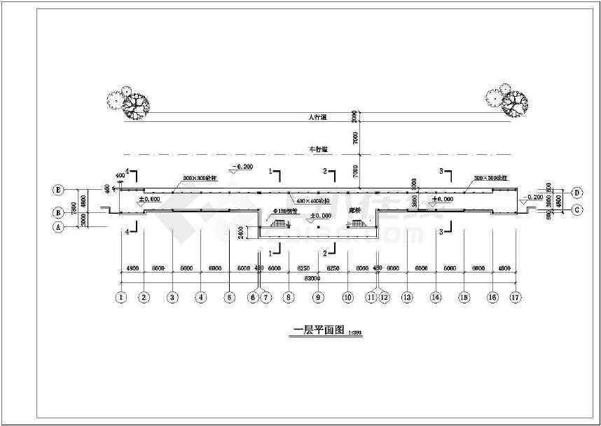 一套比较实用的古建筑图纸-图1
