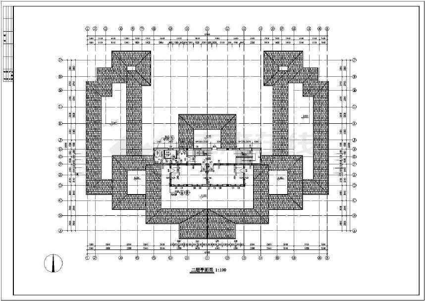 非常精美的某仿古建筑施工图-图3