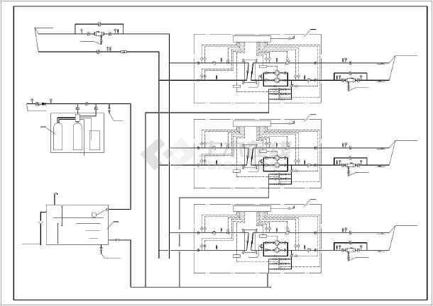 [河南]商场采暖通风设计施工图-图3