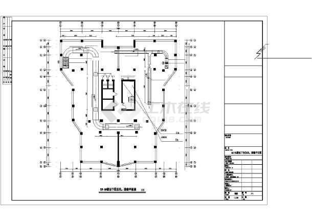 [本溪]住宅楼采暖通风设计施工图-图1