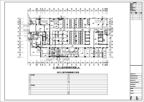 急救医院给排水设计施工图-图2