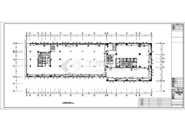 [长春]某高层办公楼采暖通风施工图-图2