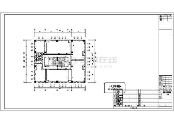 [长春]某高层办公楼采暖通风施工图-图3