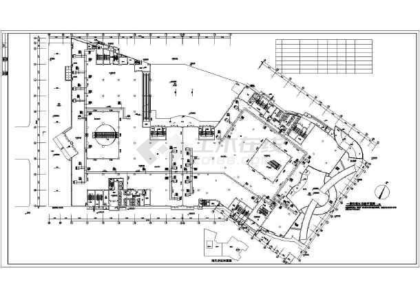 [滁州]商业综合楼暖通空调施工图-图1