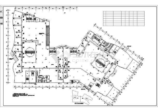 [滁州]商业综合楼暖通空调施工图-图3