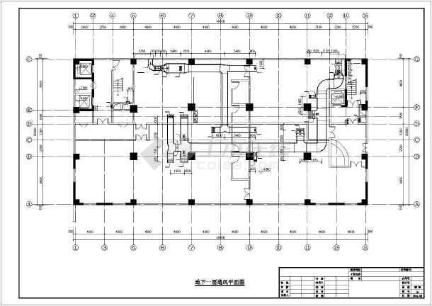 [信阳]国际酒店暖通空调设计施工图-图1