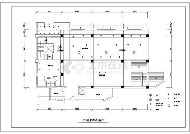 比较详细的三层酒店装修设计图纸(共60张)-图2