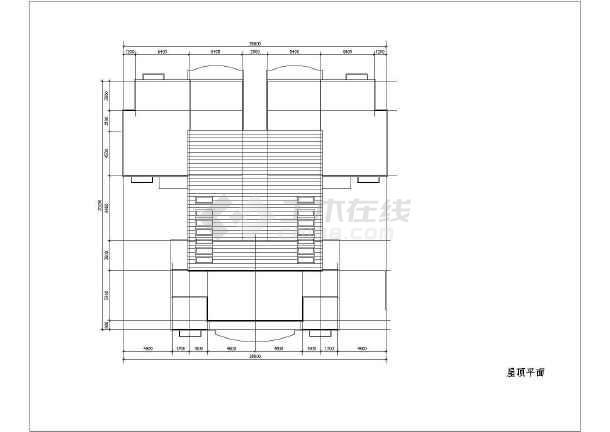 某地小文字图纸提取cad户型(共18张)cad批量建筑到高层excel图片