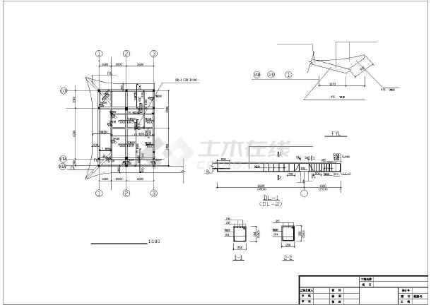 一整套详细仿古建筑施工cad设计图纸-图2