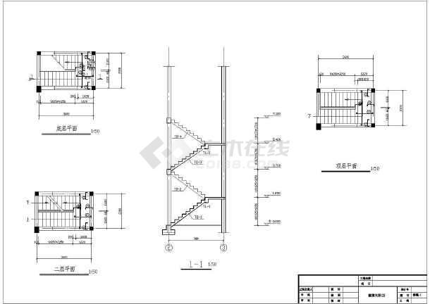 一整套详细仿古建筑施工cad设计图纸-图3