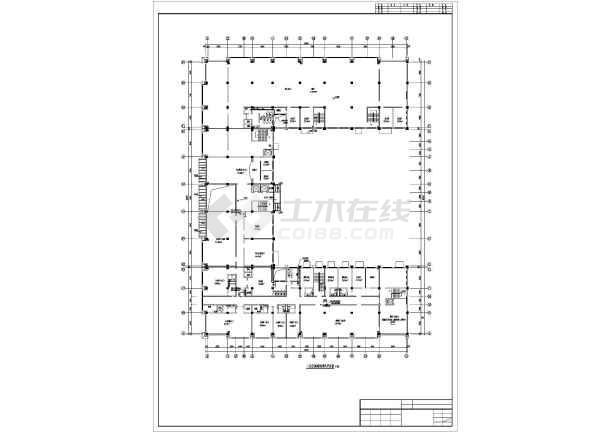[拉萨]火车站招待所暖通施工图-图1