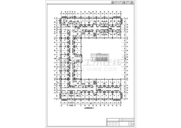[拉萨]火车站招待所暖通施工图-图2