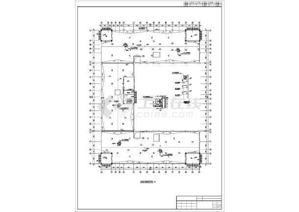 [拉萨]火车站招待所暖通施工图-图3
