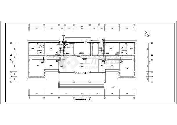 [新疆]多层办公大楼采暖给排水设计图-图2
