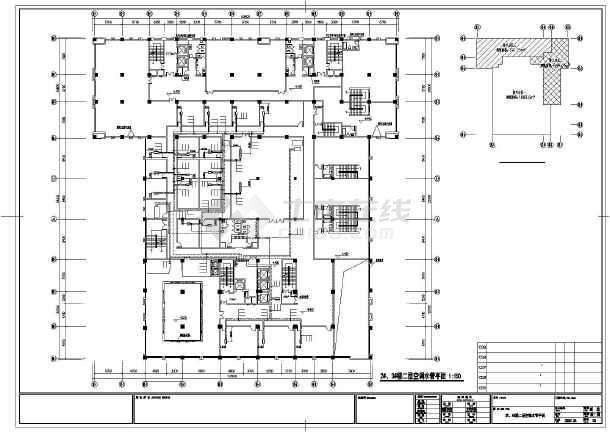 [南京]商业综合楼暖通空调施工图-图2