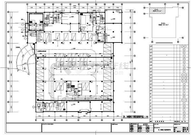 [南京]商业综合楼暖通空调施工图-图3