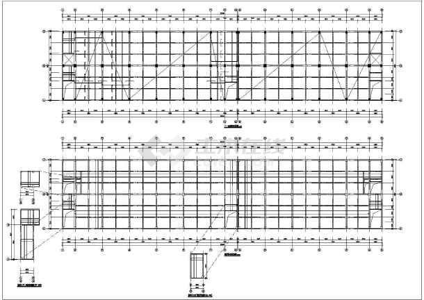[广东]钢筋混凝土框架住宅结构设计图-图1