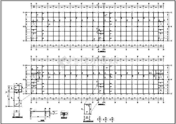 [广东]钢筋混凝土框架住宅结构设计图-图2