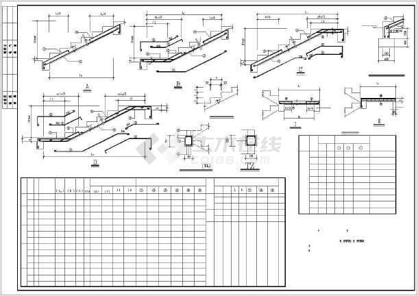 [广东]钢筋混凝土框架住宅结构设计图-图3