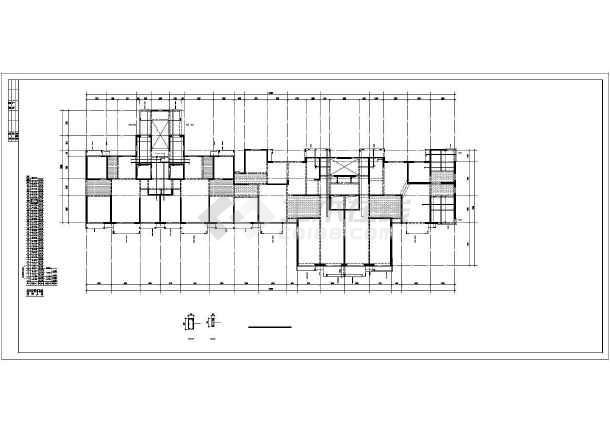 [河北]34层框支剪力墙住宅楼结构施工图-图2