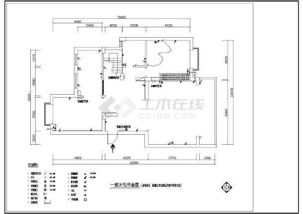 某地大型梦园别墅建筑施工图(共15张)-图2