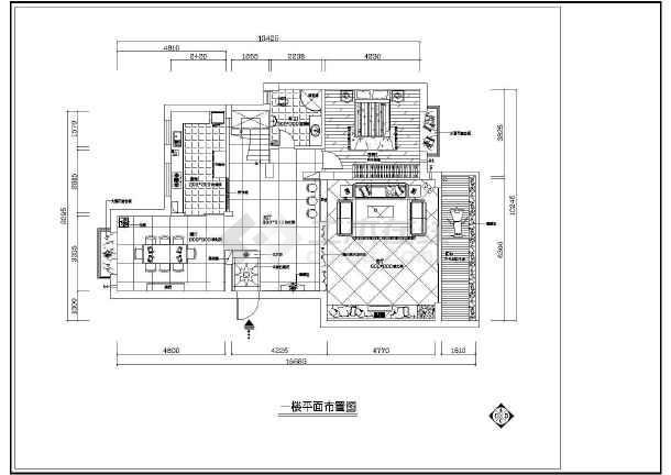 某地大型梦园别墅建筑施工图(共15张)-图3
