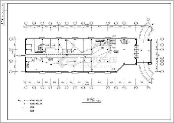 办公会议中心弱电图纸-图1