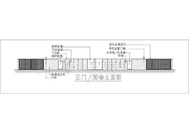 某地大型双拼豪华别墅建筑施工图-图3