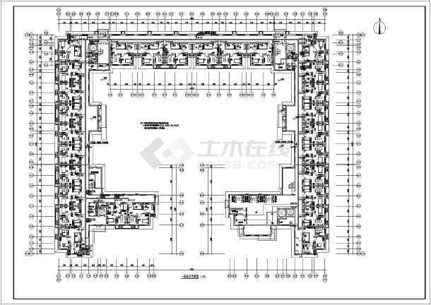 北方-养老公寓工程强电图纸-图1