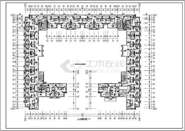 北方-养老公寓工程强电图纸-图2