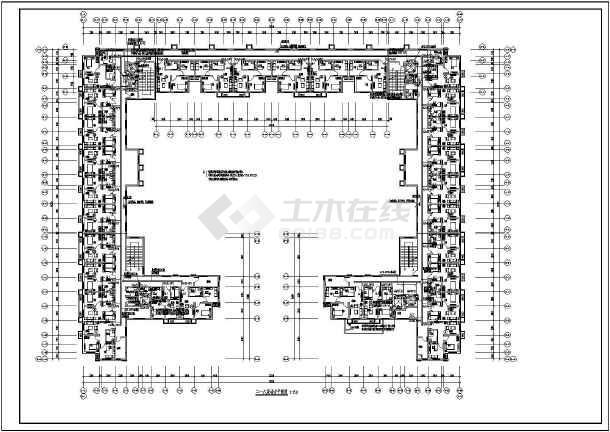 北方-养老公寓工程强电图纸-图3