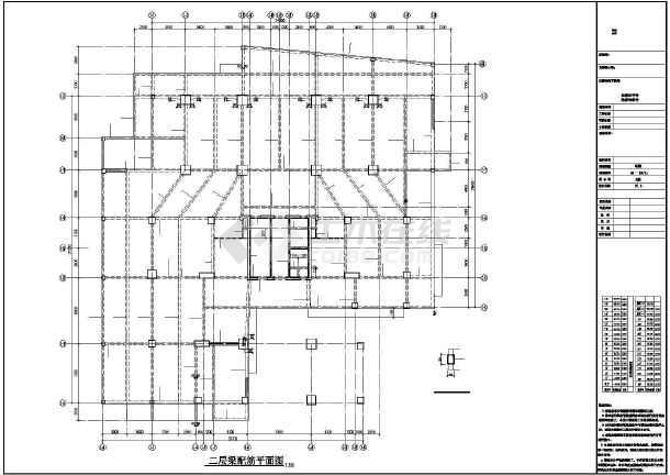 [四川]某31层框支剪力墙综合楼结构设计图-图1