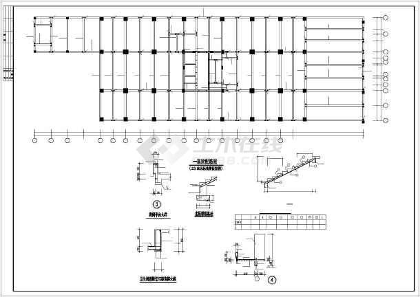 [重庆]18层框剪住宅结构设计图-图3